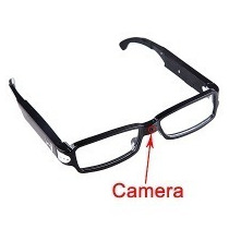 Lentes Fashion Camara Espía Oftamilco Imperceptible 8gb Hd