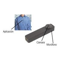 Camara Oculta En Boton De Camisa, Resolución De Grabación