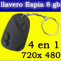 Mini Camara Espia Llavero Alarma De Carro Hd 8gb Usb Dvr Spy