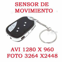 Llavero Camara Espia Audio Video Sensor Movimiento Cctv Omm