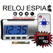 Camara Espia Tipo Reloj Despertador Con Padrisimos Regalos.