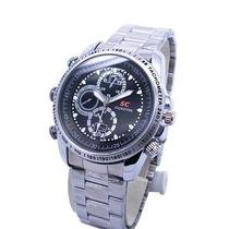 Reloj Camara Espia Oculta Con 8gb Hd Fotos Y Video Metalico