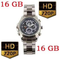 Reloj Camara Espia James Bond 007 Memoria Incluida 16 Gb Op4