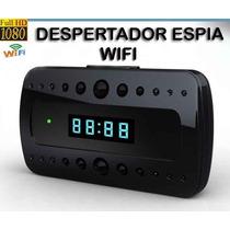 Reloj Despertador Camara Espia Wifi 24 Hr Vision Nocturna