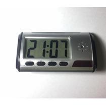 Reloj Despertador Espia 32 Gb Hd Mini Dv Con Caja Y Regalos