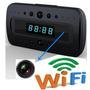 Reloj Espia Despertador Wifi Y Vision Nocturna Fullhd P2p