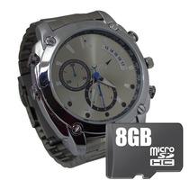 Reloj Espia 8gb Camara Oculta Hd 12mp Vision Nocturna.