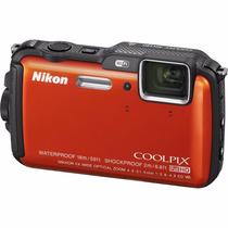Tb Nikon Coolpix Aw120 16.1 Mp Wi-fi And Waterproof