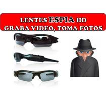 Lentes Gafas Con Camara Espia Hd 5 Mp Dvr Video Fotos Audio