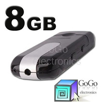 Camara Espia Spy Usb Detector De Movimiento Hd Incluye 8 Gb