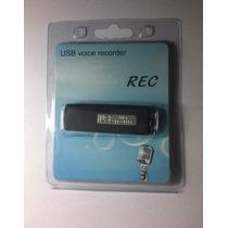 Microfono Espia Usb 4gb Grabadora De Voz Espía Usb Memoria