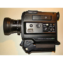 Minolta Camara Super 8 Xl Sound 64