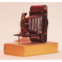Cámara Kodak No. 2 Folding Autographic Decoración Colección