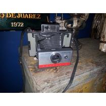 Antigua Cámara Polaroid Land 104. Con Manual. Impecable!