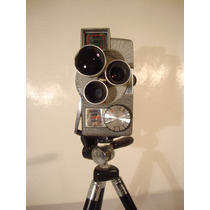 Camara De Cine Antigua 8mm Wollensak Mod 43 Vintage