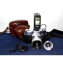 Cámara Kodak Retina Reflex Iv Con 2 Lentes De Usa 1964
