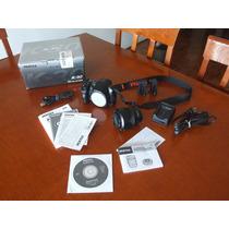 Cámara Pentax K30 Con Lente Da 18-55mm F3.5-5-6 Wr