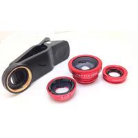 Kit Lentes Universal Eye Fisheye-wide-macro /iphone, Samsung