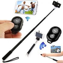 Monopie Selfie Stick Con Disparador Bluetooth Envio Gratis.