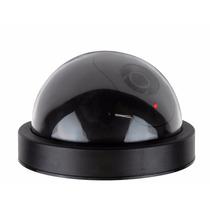 Camara Falsa Tipo Domo, Sensor De Movimiento Y Luz De Led