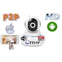Camara Ip Wifi P2p Vigilancia Por Internet 1 Mpx. Hd Zoom 4x
