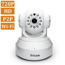 Camara De Seguridad Sricam Monitor De Bebe, Hd,ip - Blanco