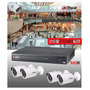 Kit Dahua Dvr 4 Canales Full 960h Hdmi 4 Cams. Bullet 600tvl