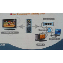 Ver 4 Camaras Analogas Desde Internet Video Servidor Ip Dvr