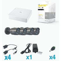 Kit Cctv Epcom Hikvision 4 Cam 900tvl + 12 Meses Sin Interes