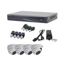 Kit Epcom Turbohd(tvi)1080p, 4 Domos Antivandálicos 90°