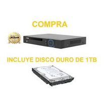 Dvr Incluye Hdd 1tb/ Dvr 4 Canales De Video&audio/ H264/ Ful