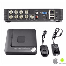 Dvr 8 Canales Cctv Hd 1080p Hdmi Ip Cloud Hydrido Nvr Hvr