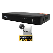 Dvr 4 Canales 1080p Hdtvi Y Analogico P2p 1 Canal Extra Ip A