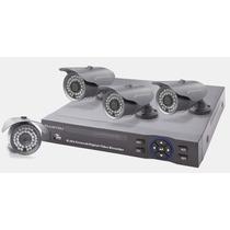Sistema Vigilancia Internet 4 Camaras Hd De Seguridad Dd 1tb
