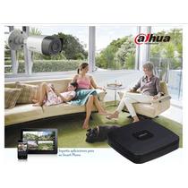 Kit Dahua Hdcvi 4 Camaras 720p Ir Dvr Cables Internet Cctv