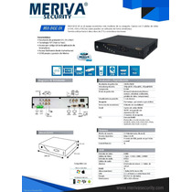 Dvr Meriva 4 Canales Cloud Mva-845c-04