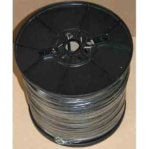 Bobina Cable Coaxial Siames 305mts Cal 20 Cctv Negro B06