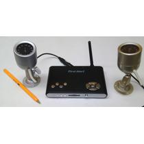 Kit 2 Video/audio Cámaras Y Dvr De Vigilancia Inalámbricos