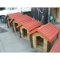 Casa Para Perro De Madera Extra Grande