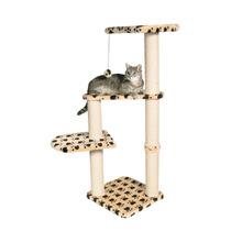 Casa Cuatro Pisos Y Juego Para Gatos Mascotas