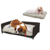 Mueble Sofa Cama Almohada Cojin 2en1 Perro Grande Gato E4f