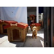 Casas De Madera Para Perro (pet House) 50 X 70 X 70