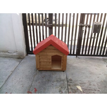 Casas De Madera Para Perro (pet House) 70 X 50 X 70