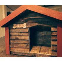 Casa De Madera Para Perro Chico, Impermeabilizada