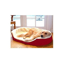 Cama Para Perro Majestic Perro Tumbona Pet Bed Rojo, Medio