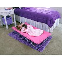 Cama Cuna Infantil Plegable De Viaje Portatil Color Rosa