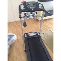 Caminadora Eléctr Cv Fitness Con Masajeador .tablero Digital