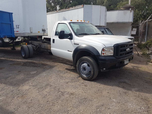 Camioneta Ford F550 A Diesel Modelo 2007 Chasis Cabina
