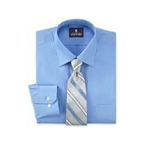 Camisa Ideal Traje Stafford Tallas Extra 3xl Cuello 19 Azul