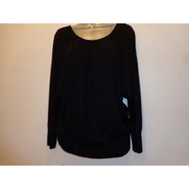 Blusa Negra Bb 100% Original Talla: L Modelo:673